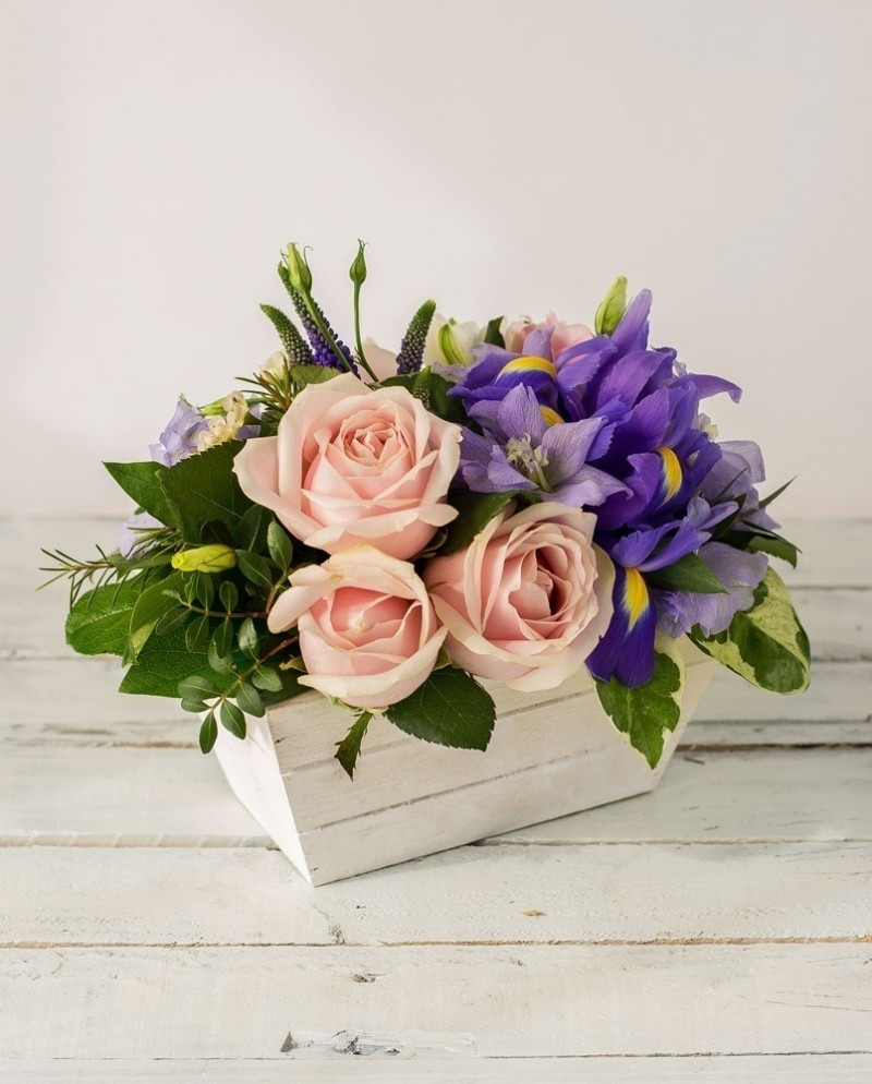 Композиция с розами №50