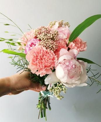 Маленький розовый букет №26