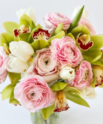 Эмоциональный букет с орхидеей №65
